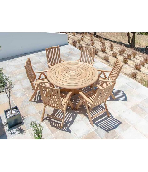 Roble Collection 6 Seater Dining Set